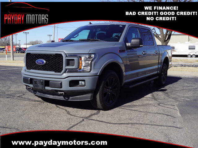 2019 Ford F-150 for sale at Payday Motors in Wichita And Topeka KS