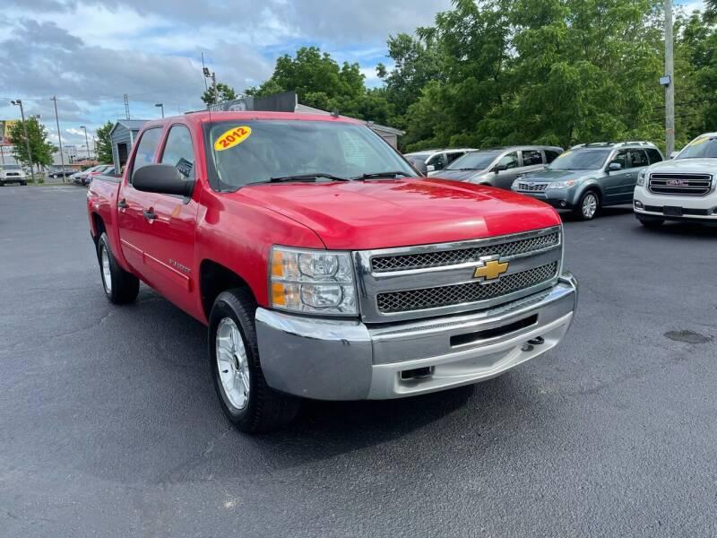 2012 Chevrolet Silverado 1500 for sale at LexTown Motors in Lexington KY
