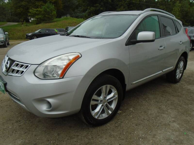 2013 Nissan Rogue for sale at Wimett Trading Company in Leicester VT