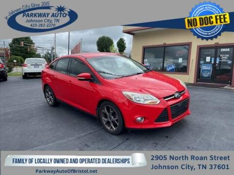 2014 Ford Focus for sale at PARKWAY AUTO SALES OF BRISTOL - PARKWAY AUTO JOHNSON CITY in Johnson City TN
