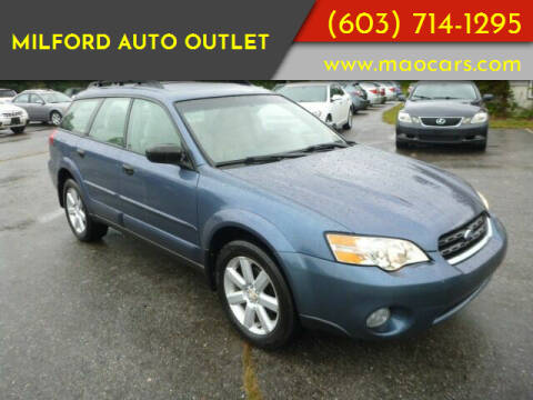 2006 Subaru Outback for sale at Milford Auto Outlet in Milford NH