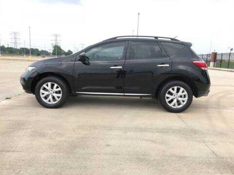 2014 Nissan Murano for sale at ALL AMERICAN FINANCE AND AUTO in Houston TX
