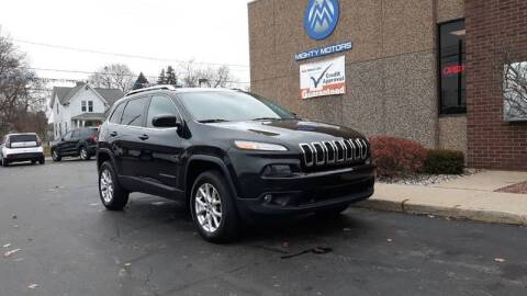 2014 Jeep Cherokee for sale at Mighty Motors in Adrian MI