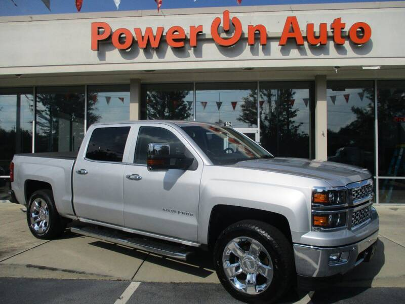 2015 Chevrolet Silverado 1500 for sale at Power On Auto LLC in Monroe NC