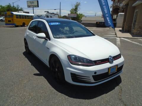2015 Volkswagen Golf GTI for sale at Team D Auto Sales in Saint George UT