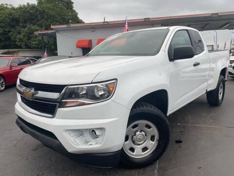 2015 Chevrolet Colorado for sale at MATRIX AUTO SALES INC in Miami FL