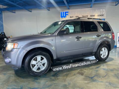 2008 Ford Escape for sale at Wes Financial Auto in Dearborn Heights MI