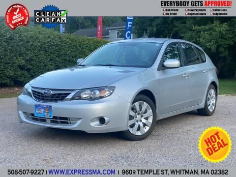 2009 Subaru Impreza for sale at Auto Sales Express in Whitman MA