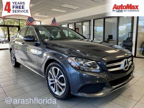 2015 Mercedes-Benz C-Class for sale at Auto Max - Rentals in Hollywood FL
