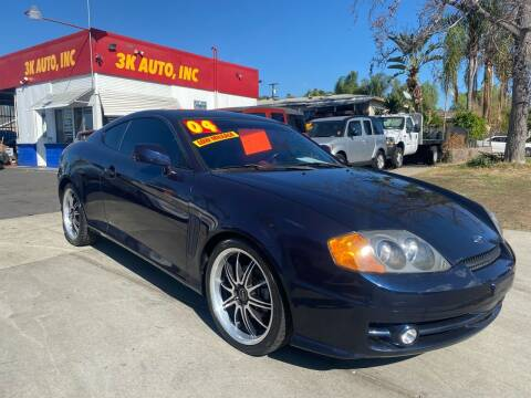 2004 Hyundai Tiburon for sale at 3K Auto in Escondido CA