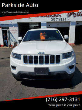 2014 Jeep Grand Cherokee for sale at Parkside Auto in Niagra Falls NY