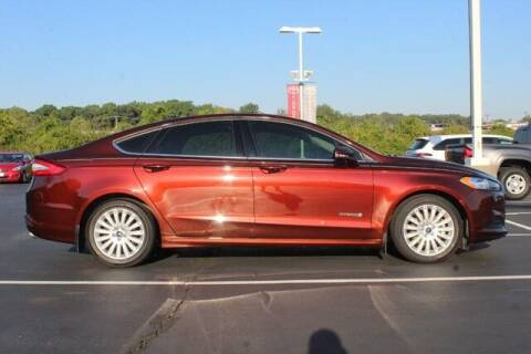 2016 Ford Fusion Hybrid for sale at Twin City Toyota in Herculaneum MO