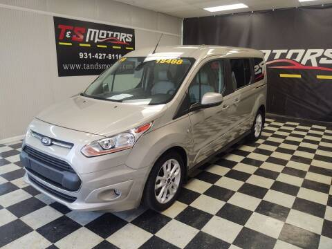 2016 Ford Transit Connect Wagon for sale at T & S Motors in Ardmore TN