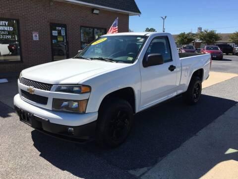 2012 Chevrolet Colorado for sale at Bankruptcy Car Financing in Norfolk VA