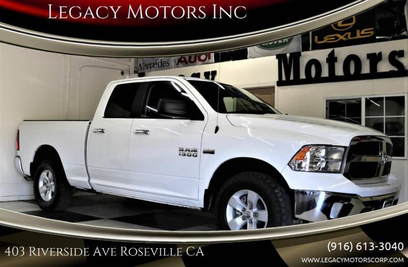 2018 RAM Ram Pickup 1500 for sale at Legacy Motors Inc in Roseville CA