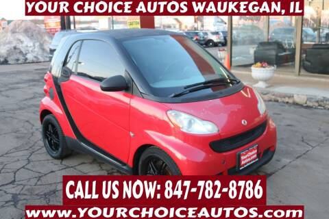 2009 Smart fortwo for sale at Your Choice Autos - Waukegan in Waukegan IL