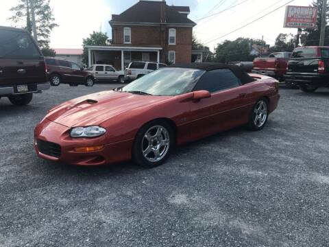 2002 Chevrolet Camaro for sale at PENWAY AUTOMOTIVE in Chambersburg PA