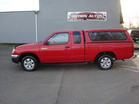 2000 Nissan Frontier for sale at Motion Autos in Longview WA