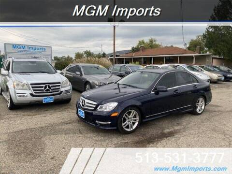 2012 Mercedes-Benz C-Class for sale at MGM Imports in Cincinnati OH