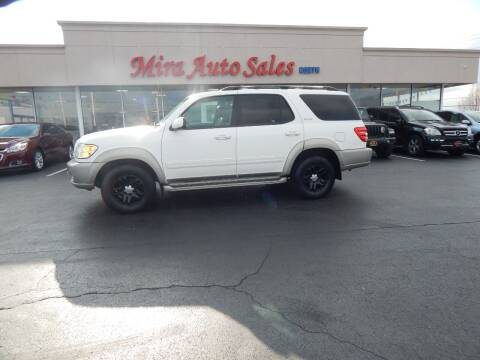 2004 Toyota Sequoia for sale at Mira Auto Sales in Dayton OH