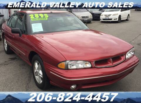 1998 Pontiac Bonneville for sale at Emerald Valley Auto Sales in Des Moines WA