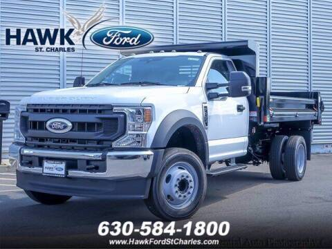 2021 Ford F-450 Super Duty for sale at Hawk Ford of St. Charles in Saint Charles IL
