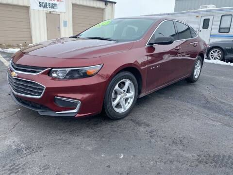 2016 Chevrolet Malibu for sale at Used Car Factory Sales & Service Troy in Troy OH