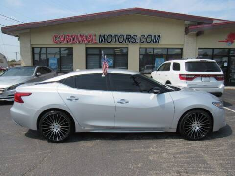 2018 Nissan Maxima for sale at Cardinal Motors in Fairfield OH