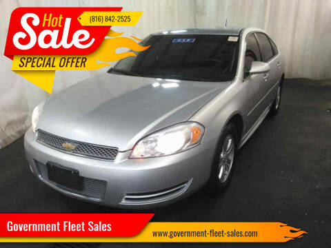 2012 Chevrolet Impala for sale at Government Fleet Sales in Kansas City MO