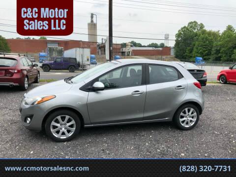 2012 Mazda MAZDA2 for sale at C&C Motor Sales LLC in Hudson NC