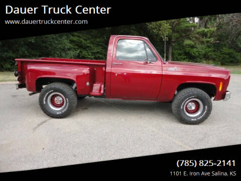 1975 Chevrolet C/K 10 Series for sale at Dauer Truck Center in Salina KS