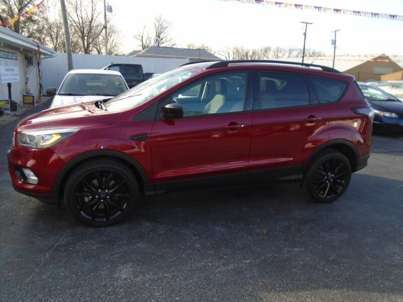 2018 Ford Escape for sale at River City Auto Sales in Cottage Hills IL