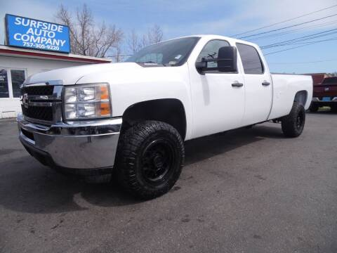 2011 Chevrolet Silverado 2500HD for sale at Surfside Auto Company in Norfolk VA