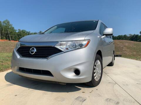 2012 Nissan Quest for sale at El Camino Auto Sales in Sugar Hill GA