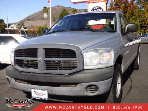 2007 Dodge Ram Pickup 1500 for sale at McCarthy Wholesale in San Luis Obispo CA