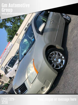 2009 Nissan Sentra for sale at GM Automotive Group in Philadelphia PA