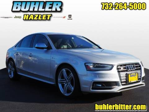 2014 Audi S4 for sale at Buhler and Bitter Chrysler Jeep in Hazlet NJ