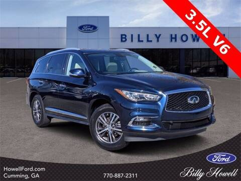 2017 Infiniti QX60 for sale at BILLY HOWELL FORD LINCOLN in Cumming GA