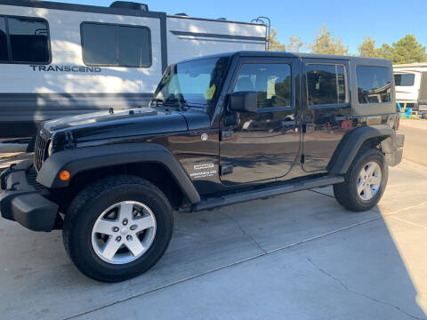 2013 Jeep Wrangler Unlimited for sale at 51 Auto Sales in Portage WI