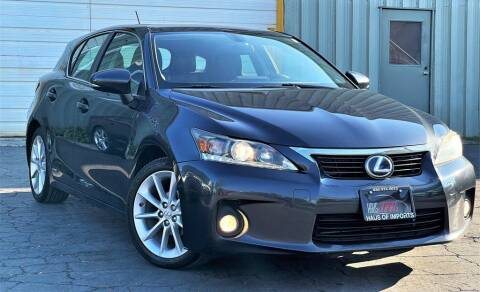 2011 Lexus CT 200h for sale at Haus of Imports in Lemont IL