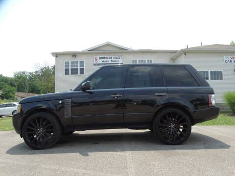 2011 Land Rover Range Rover for sale at SOUTHERN SELECT AUTO SALES in Medina OH