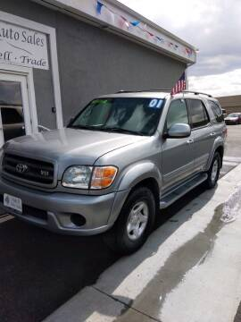 2001 Toyota Sequoia for sale at A&A Auto Sales in Orem UT