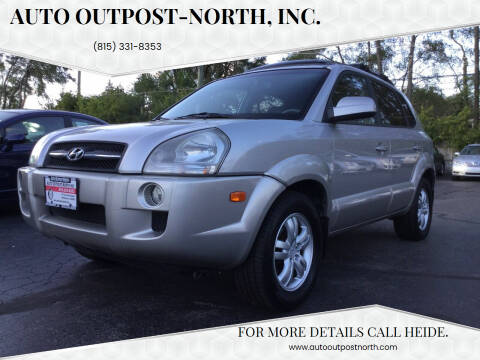 2006 Hyundai Tucson for sale at Auto Outpost-North, Inc. in McHenry IL