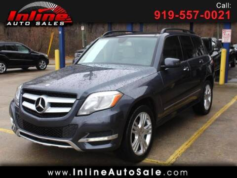 2014 Mercedes-Benz GLK for sale at Inline Auto Sales in Fuquay Varina NC