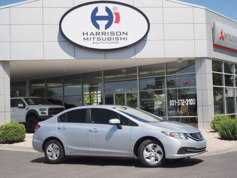 2015 Honda Civic for sale at Harrison Imports in Sandy UT