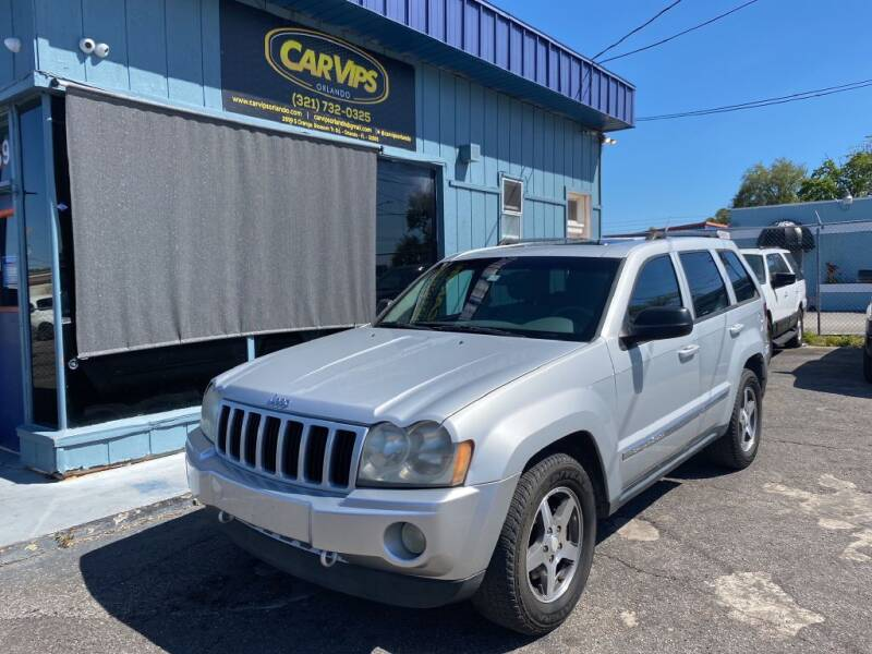2006 Jeep Grand Cherokee for sale at CAR VIPS ORLANDO LLC in Orlando FL