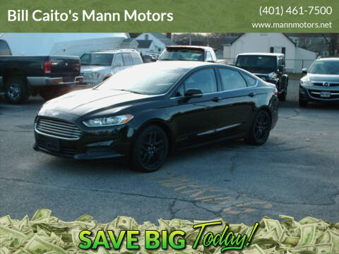 2014 Ford Fusion for sale at Bill Caito's Mann Motors in Warwick RI