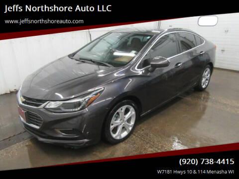 2016 Chevrolet Cruze for sale at Jeffs Northshore Auto LLC in Menasha WI