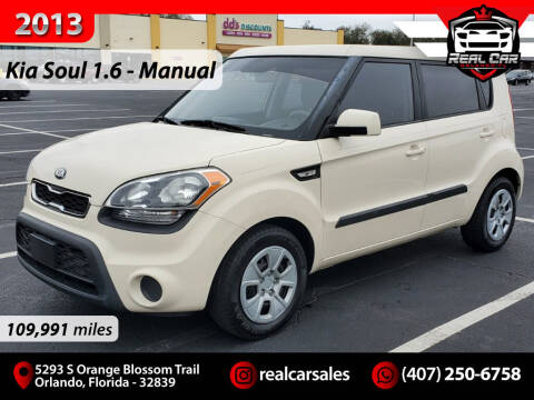 2013 Kia Soul for sale at Real Car Sales in Orlando FL