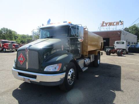 2008 Kenworth T370 Oil Truck for sale at Lynch's Auto - Cycle - Truck Center in Brockton MA